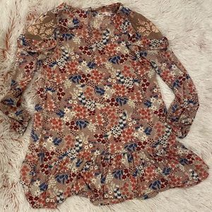 Epic Threads girl's floral patterned dress size M